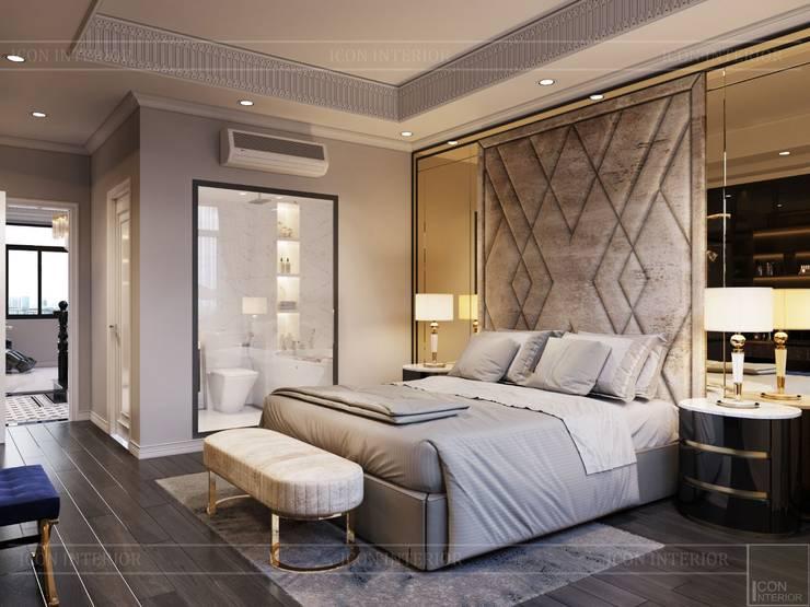 Thiết kế Biệt thự phong cách Đông Dương: KHI THIẾT KẾ LÀ LỜI TỰ SỰ:  Phòng ngủ by ICON INTERIOR