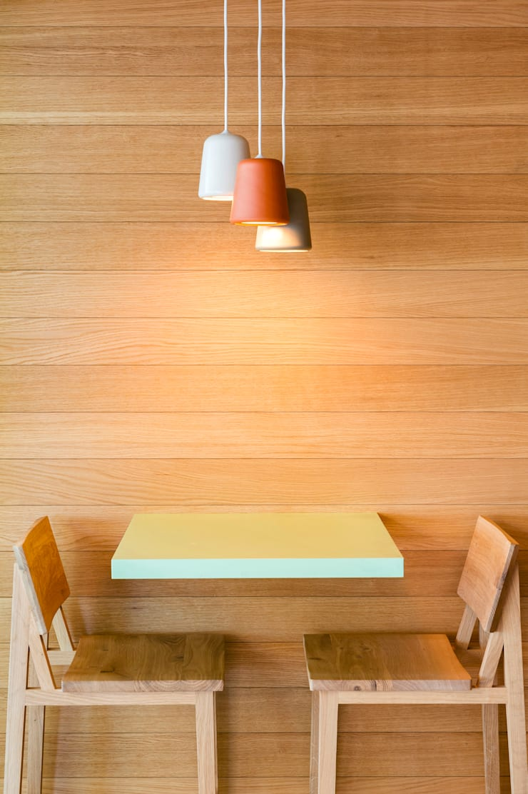 Bar Saborea: Bares y Clubs de estilo  de Piedra Papel Tijera Interiorismo,