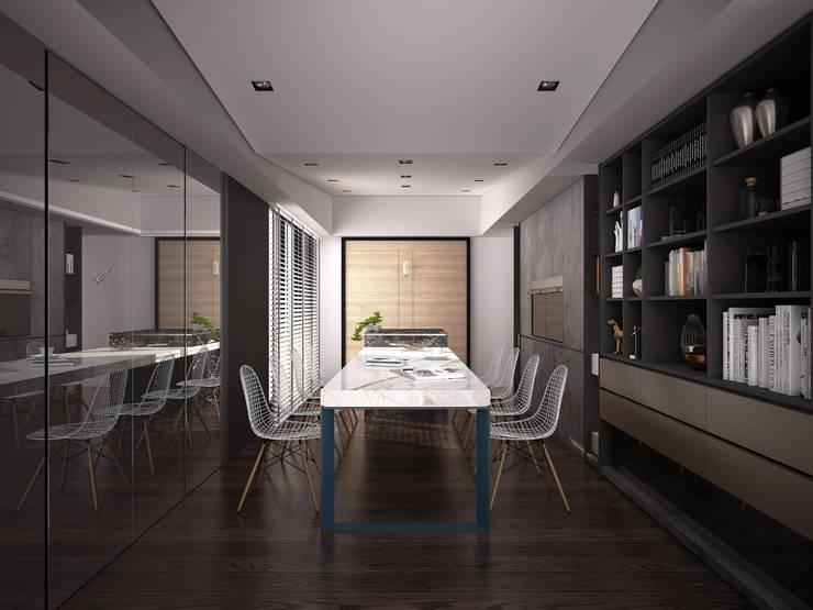 02:  餐廳 by 工聚室內設計,