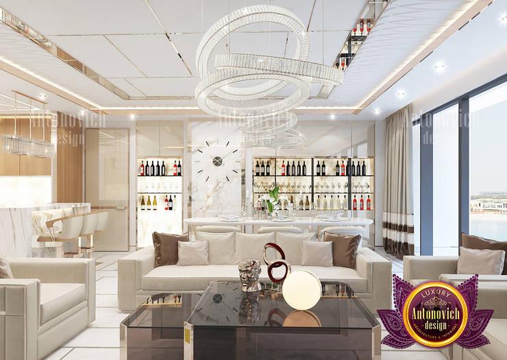 Top Interior Design Solutions for Luxury Apartments:   by Luxury Antonovich Design