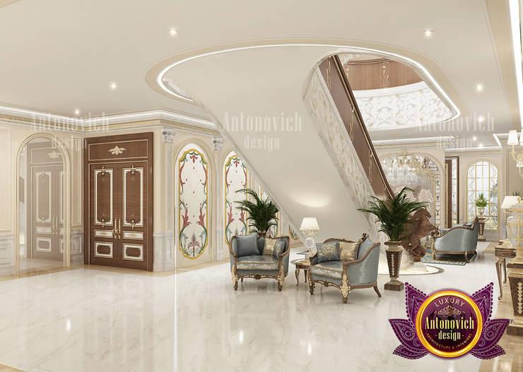 Incredible Luxury Hall Interior:   by Luxury Antonovich Design,