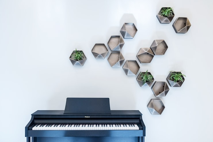 Piano:  Living room by We Style Middle East, Modern