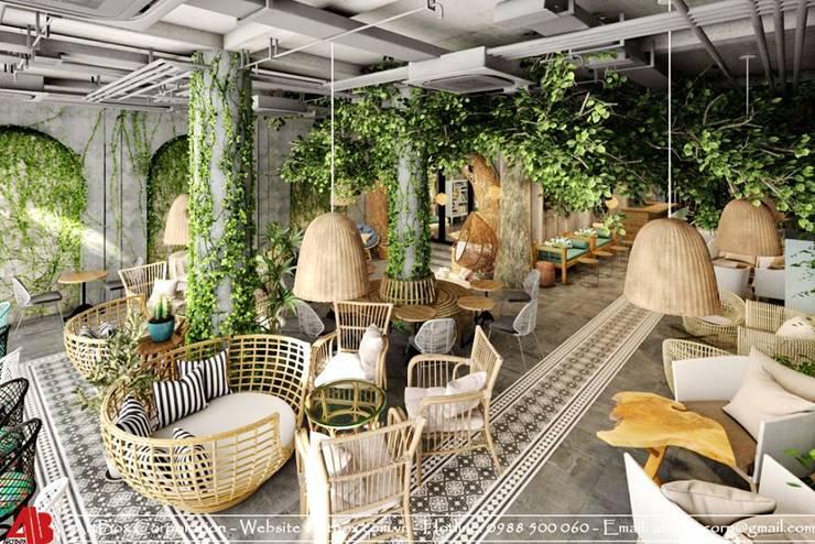 Thiết kế nội thất quán cafe TUY'S COFFEE:   by Thiết Kế Nội Thất - ARTBOX