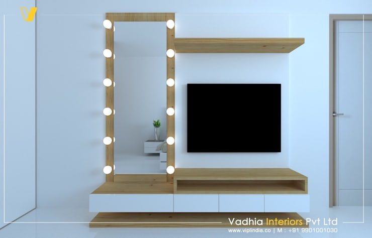 modern  by Vadhia Interiors Pvt Ltd, Modern