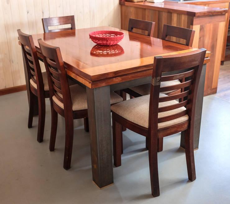 Comedores fabricados a medida: Cocina de estilo  por Cauco Woods & Design