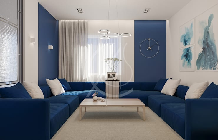 Salones de estilo  de Comelite Architecture, Structure and Interior Design ,