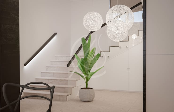 Escaleras de estilo  de Comelite Architecture, Structure and Interior Design ,
