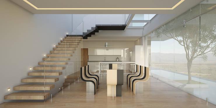 Дома в . Автор – 21arquitectos, Минимализм