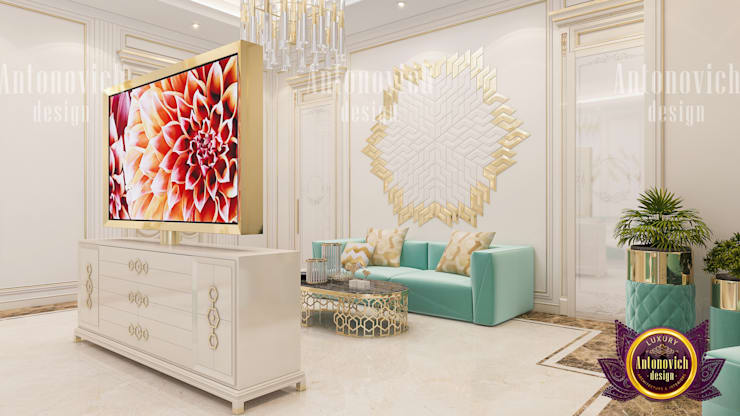 The Perfect Interior Color Combination by Luxury Antonovich Design