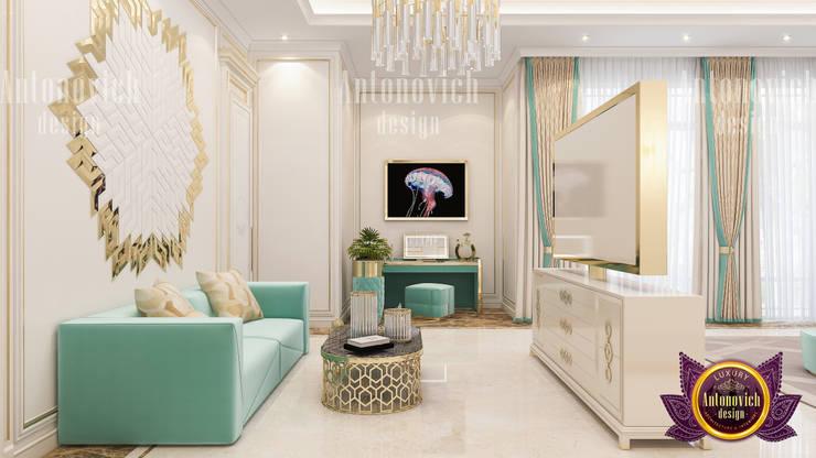 The Perfect Interior Color Combination:   by Luxury Antonovich Design,