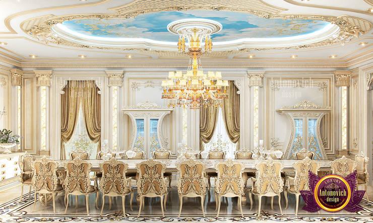 Beautiful Ideal Dining Room Design Ideas:   by Luxury Antonovich Design,