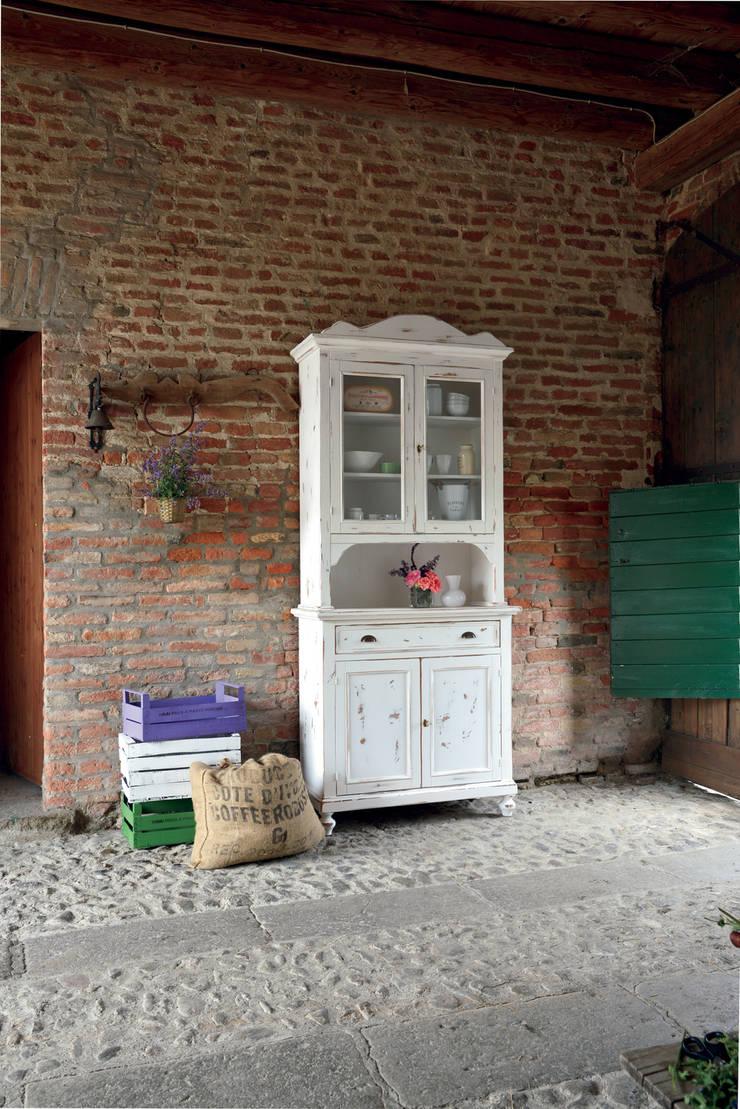 Salones de estilo  de Idea Stile, Escandinavo Madera maciza Multicolor