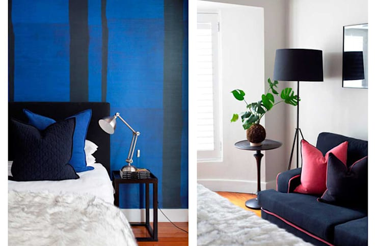 Guest Bedroom:  Small bedroom by Metaphor Design,