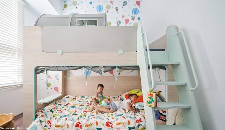思維空間設計  が手掛けた寝室, ミニマル