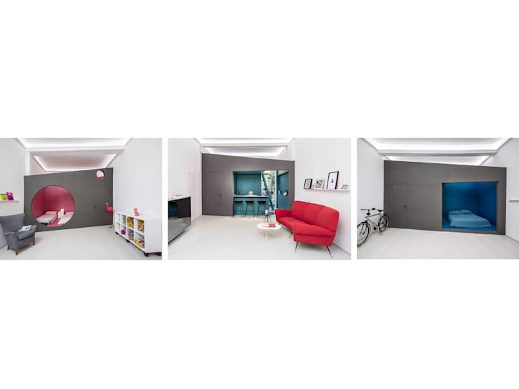 Salon de style  par MIROarchitetti,