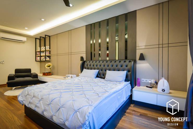 Semi-D @ Bukit Segar :  Bedroom by Young Concept Design Sdn Bhd, Modern