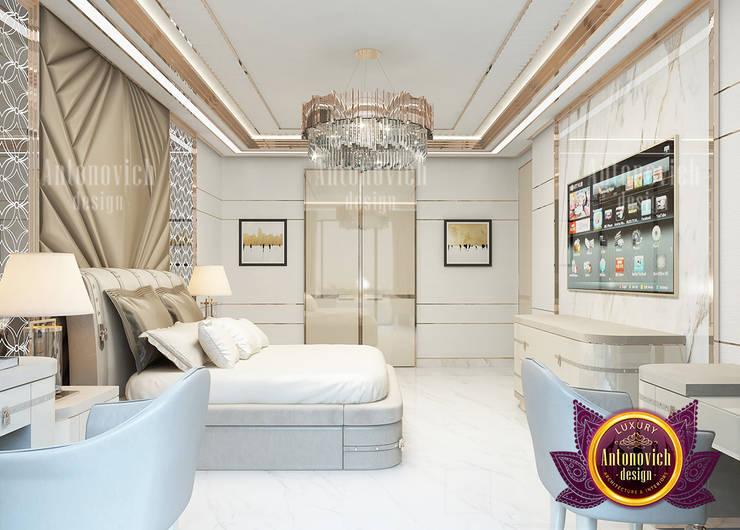 Incredible Modern Bedroom Design:   by Luxury Antonovich Design,