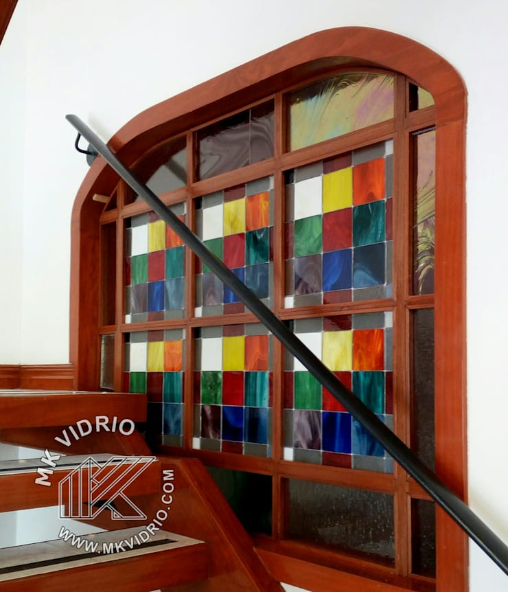 Conceptos en color :  de estilo  por MKVidrio, Moderno Vidrio