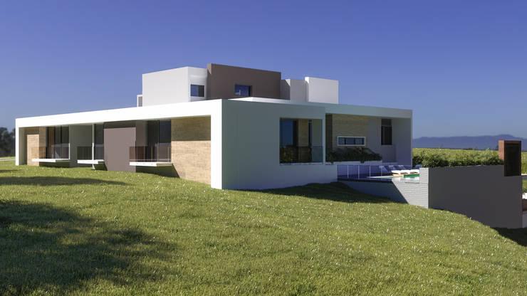 Casas de estilo  por B estudio ,