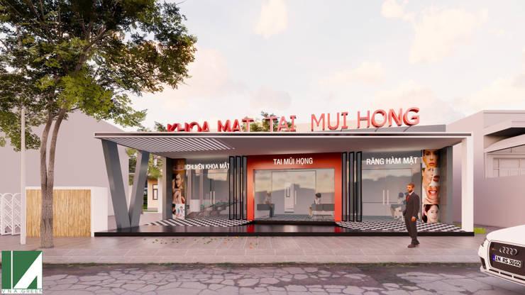 PHÒNG KHÁM RĂNG HÀM MẶT:   by công ty cổ phần Thiết kế Kiến trúc Việt Xanh