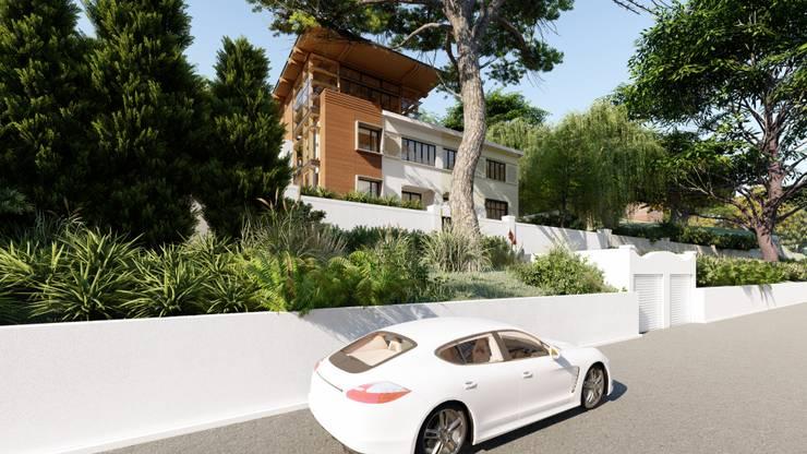 Albert Road, Tamboerskloof:  Houses by Inline Spaces Pty Ltd, Modern
