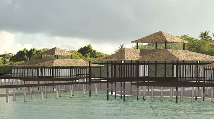 """Kendhivaru Island Resort : {:asian=>""""asian"""", :classic=>""""classic"""", :colonial=>""""colonial"""", :country=>""""country"""", :eclectic=>""""eclectic"""", :industrial=>""""industrial"""", :mediterranean=>""""mediterranean"""", :minimalist=>""""minimalist"""", :modern=>""""modern"""", :rustic=>""""rustic"""", :scandinavian=>""""scandinavian"""", :tropical=>""""tropical""""}  by Deon Smith Architects,"""