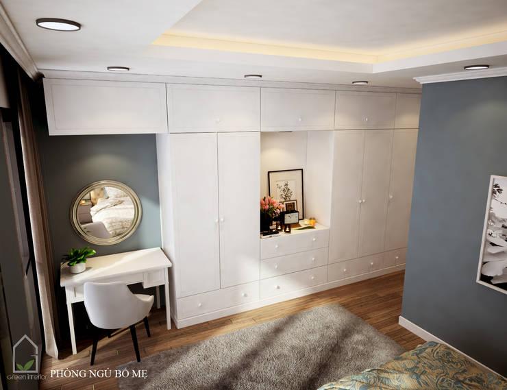 BIỆT THỰ TRÀN NGẬP MÀU SẮC TẠI ECOPARK:  Bedroom by Green Interior