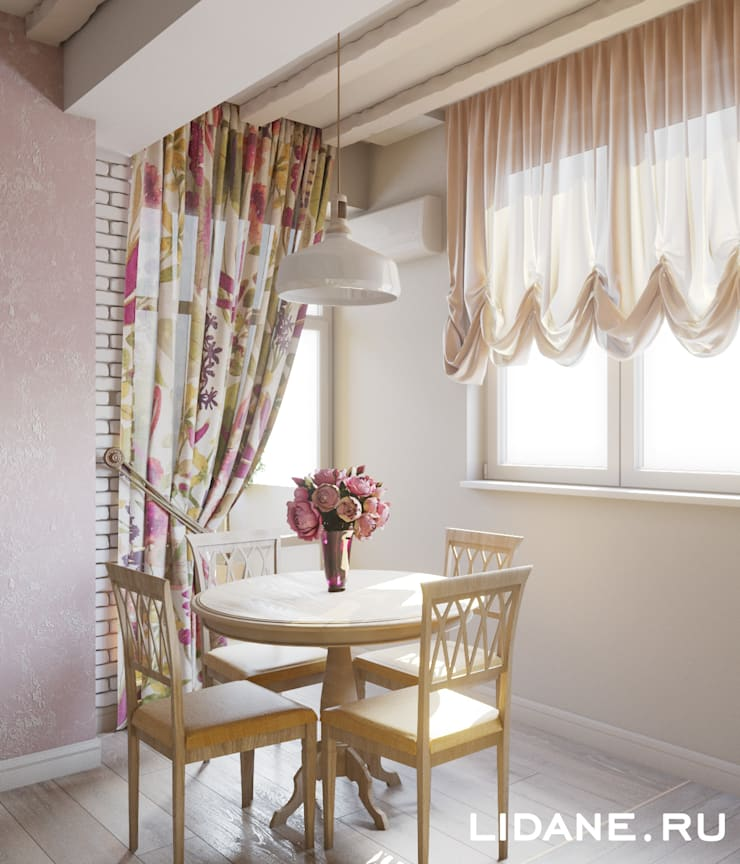 Country style dining room by Lidiya Goncharuk Country