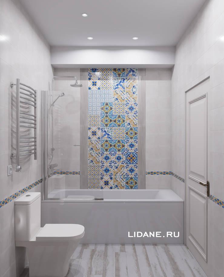 Scandinavian style bathroom by Lidiya Goncharuk Scandinavian