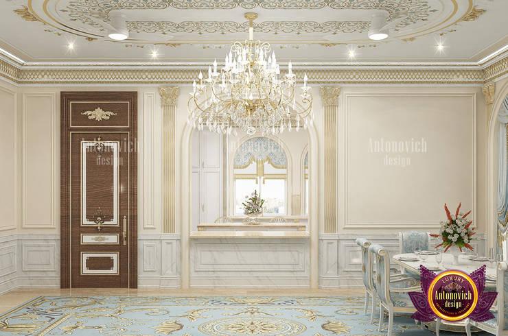 Beautiful Classical Kitchen Design by Luxury Antonovich Design