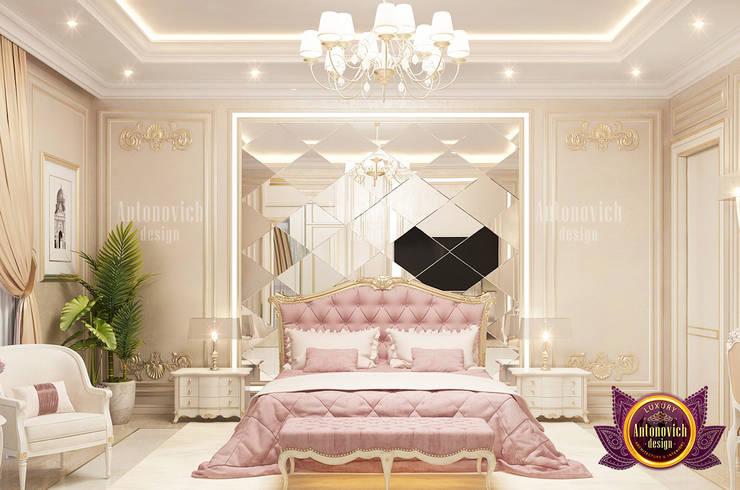 Incredible Pink Mood In Interior Design:   by Luxury Antonovich Design,