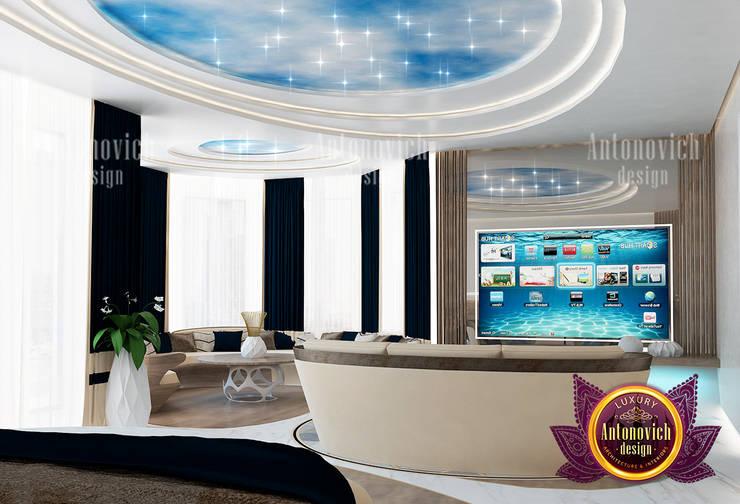 Amazingly Exquisite Bedroom Design:   by Luxury Antonovich Design,