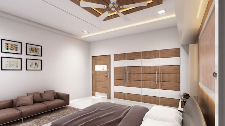 modern  by JMSD Consultant - 3D Architectural Visualization Studio, Modern Wood Wood effect