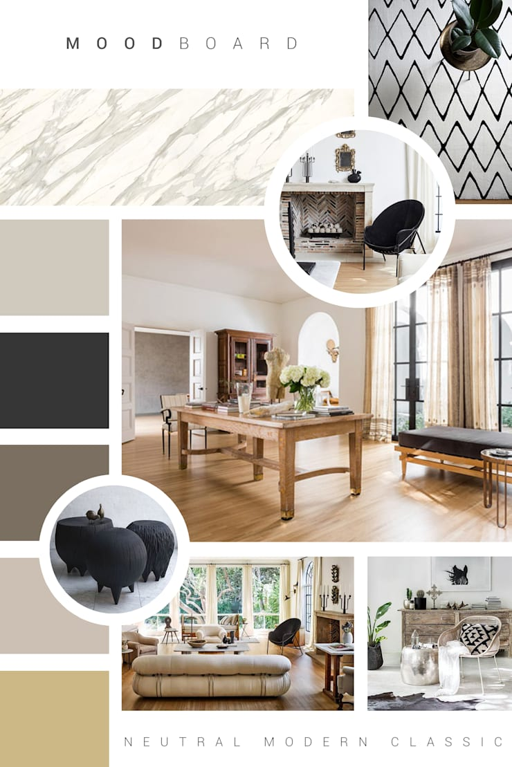 Mood Board - Residential:   by Ground Floor Interiors | Cape Town,
