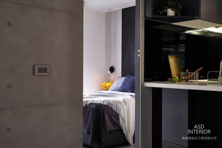天擎之境,靜逸居所:  小臥室 by 雅適登設計工程有限公司,