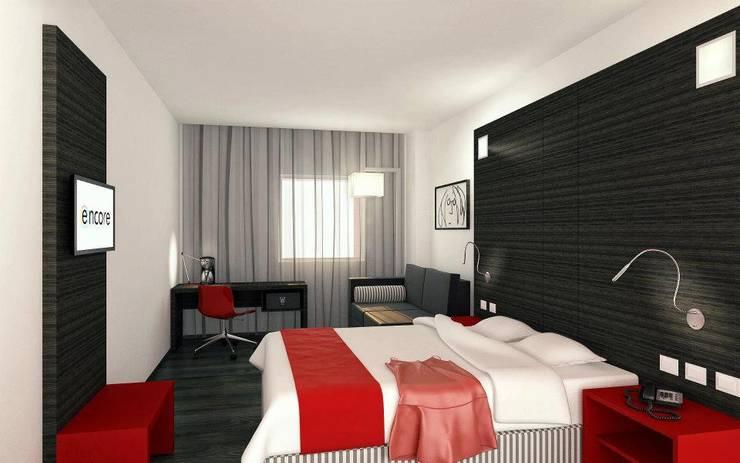 Hotels by Sakina Interiorismo, Modern