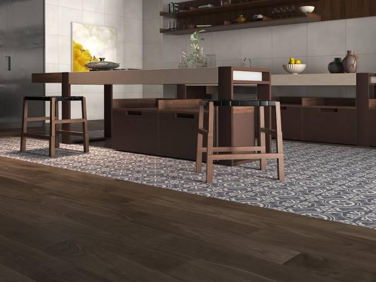 Kitchen by Interceramic MX, Rustic Ceramic