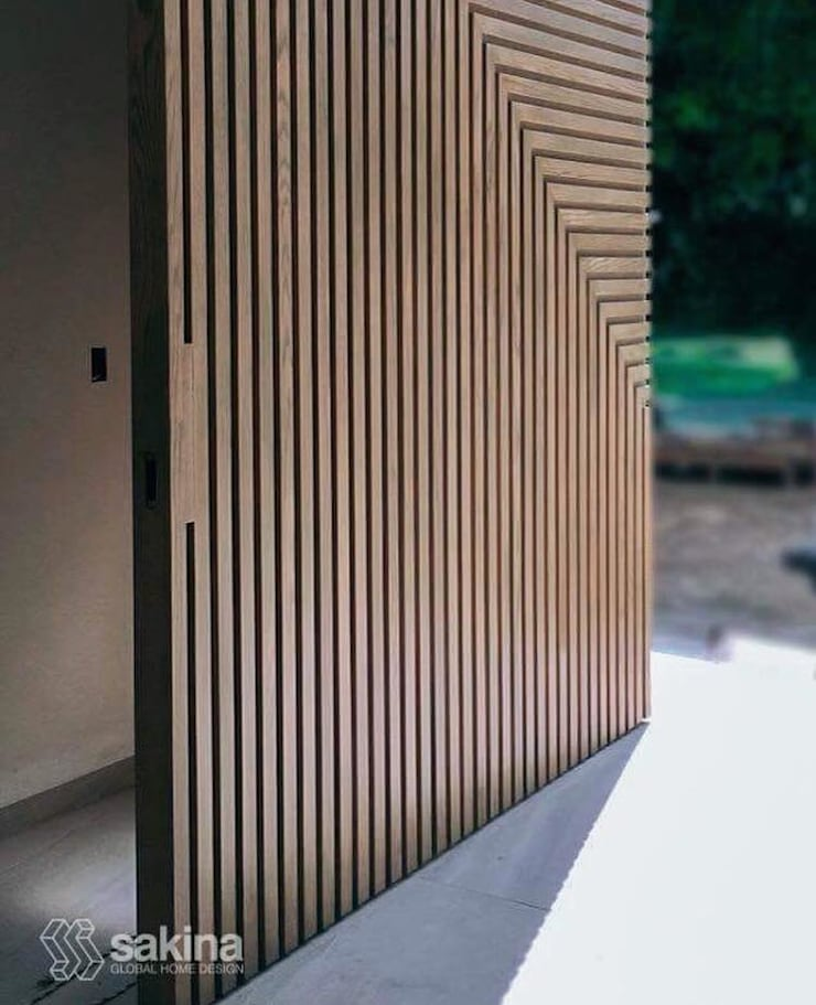 Front doors by Sakina Interiorismo, Modern