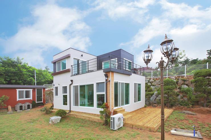 공간제작소 세번째 설계사례: 공간제작소(주)의  전원 주택,