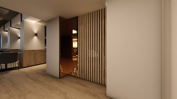 Entrance Screen:  Hotels by Mist Interior Studio,