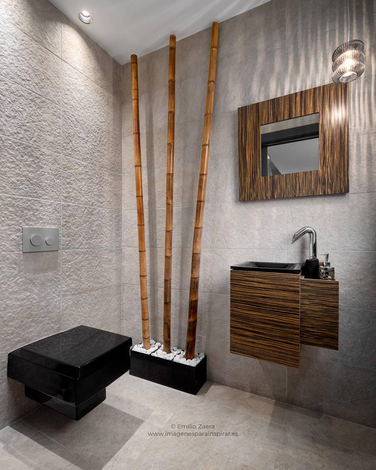 Baños de estilo  por arQmonia estudio, Arquitectos de interior, Asturias, Moderno