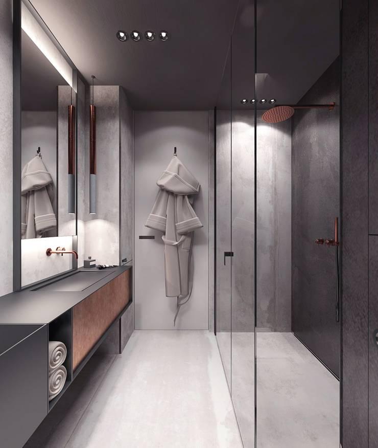 Bathroom by Studio architektury Loci, Modern Tiles