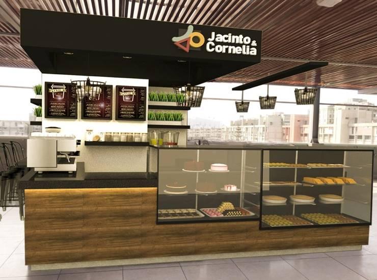 Local comercial /UPC:  de estilo  por Kambio design