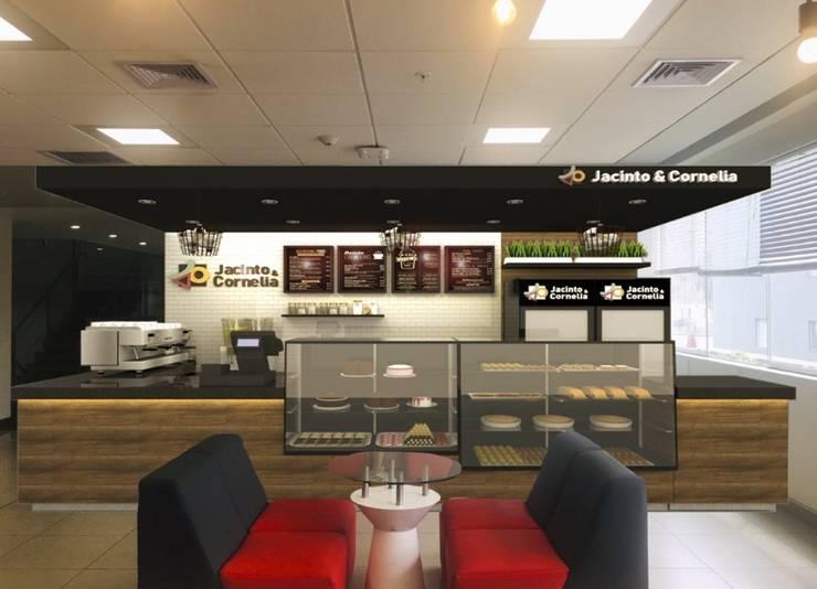Cafetería UPC:  de estilo  por Kambio design