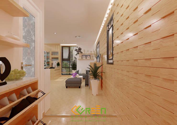 Văn phòng Anh Đông:  Office spaces & stores  by Công ty TNHH Thiết Kế Xây Dựng Xanh Hoàng Long,