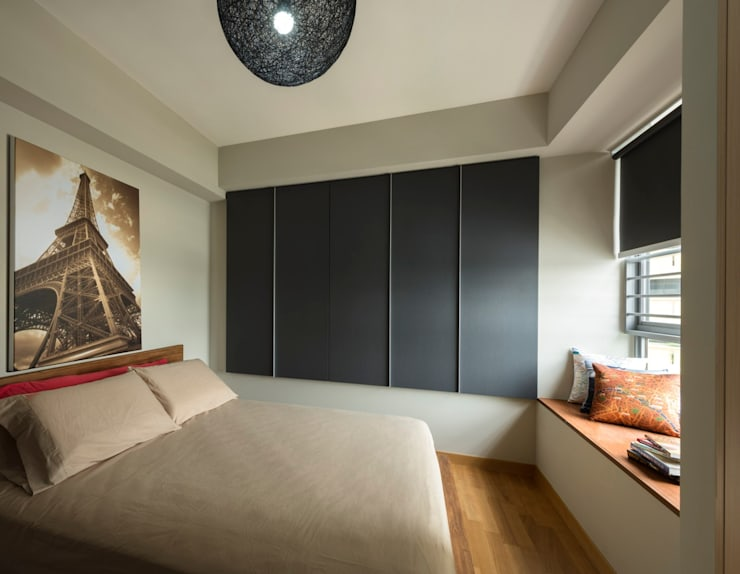 Modern Retreat At The Peak @ Toa Payoh:  Bedroom by Space Factor Pte. Ltd, Modern