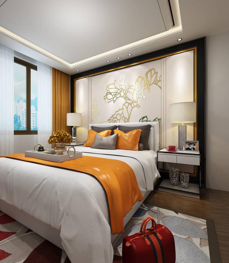 Маленькие спальни в . Автор – Space Interface,