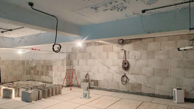 連江縣立醫院40坪長照中心 – 施工案例:   by 寶瓏室內裝修有限公司,