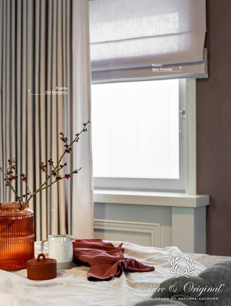 de Pure & Original Rústico Textil Ámbar/Dorado