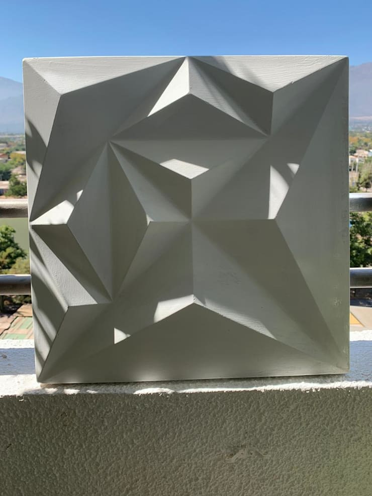 Instalaciones de Placas 3D: Paredes de estilo  por N&V diseño y construcción
